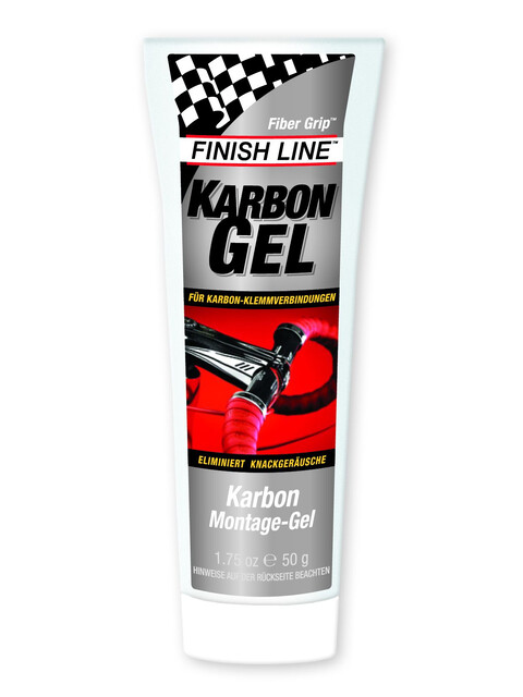 Finish Line Karbon Montage-Gel 50 g Tube
